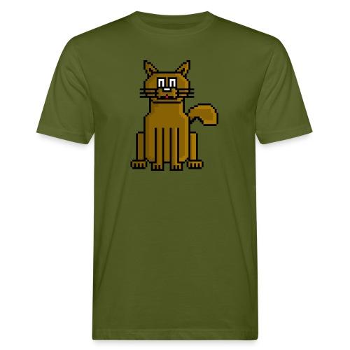 GatoPixelArt - Camiseta ecológica hombre