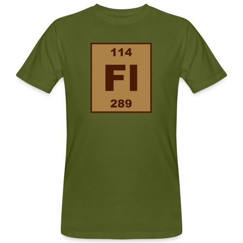 Flerovium (Fl) (element 114) - Men's Organic T-Shirt