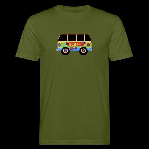 GROOVY BUS - Men's Organic T-Shirt