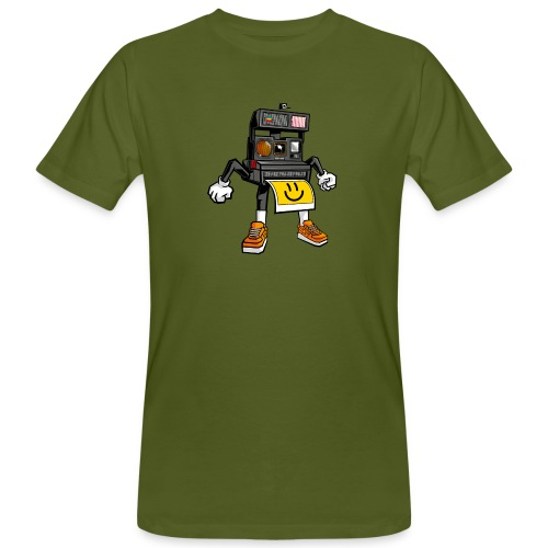 Appareil Polaroid 660 - T-shirt bio Homme