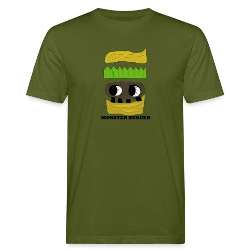 MONSTER BURGER - Männer Bio-T-Shirt