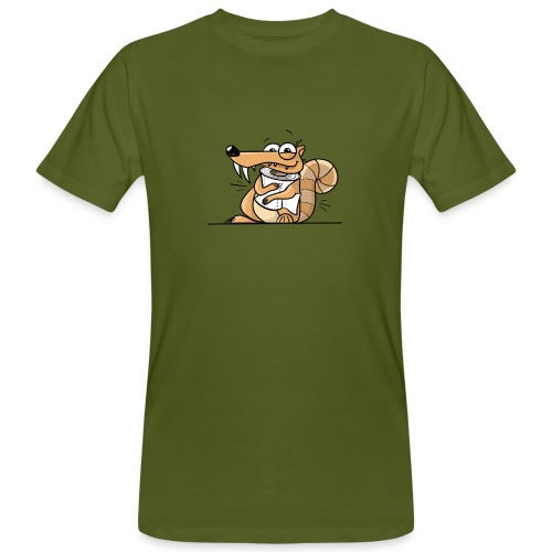 Scrat Toiletpaper Ice Age Corona Age Corona Virus - Männer Bio-T-Shirt
