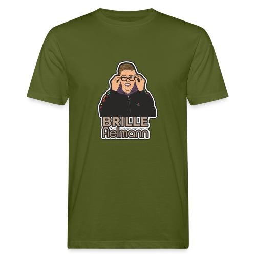 Brille - Männer Bio-T-Shirt