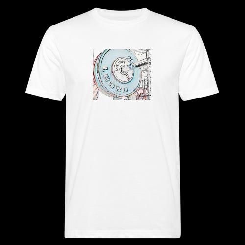 Iron - Miesten luonnonmukainen t-paita