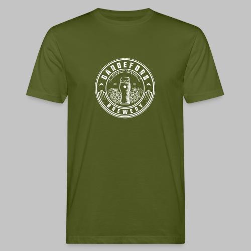 Gardefors Brygg White - Ekologisk T-shirt herr