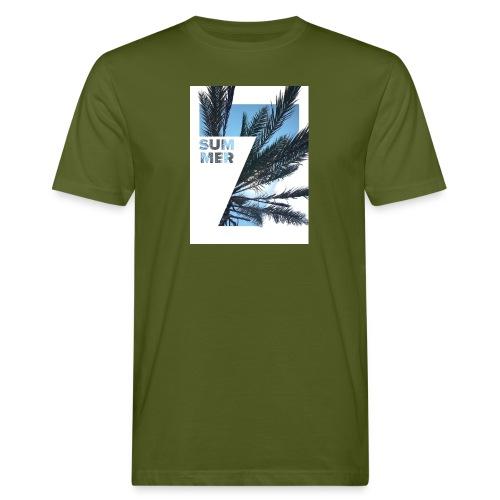 Summertime - Mannen Bio-T-shirt