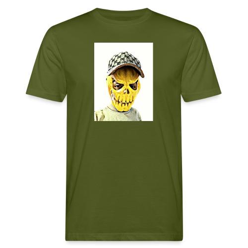 Gelber PMKM - Männer Bio-T-Shirt