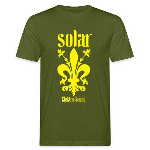 Solar Elektro Sound Logo - Männer Bio-T-Shirt