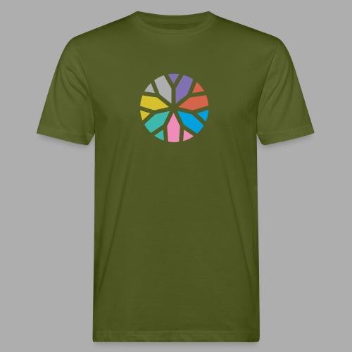 Yogablume - Männer Bio-T-Shirt