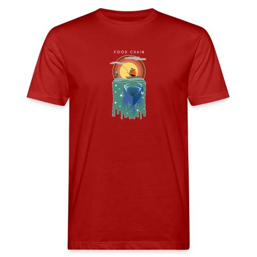 Food chain - T-shirt bio Homme