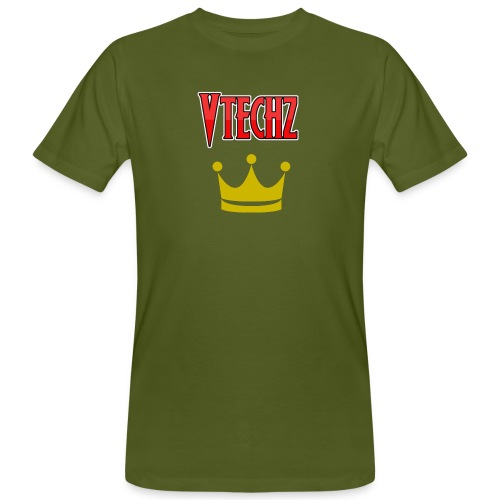 Vtechz King - Men's Organic T-Shirt