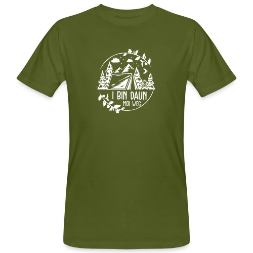 Vorschau: I bin daun moi weg - Männer Bio-T-Shirt