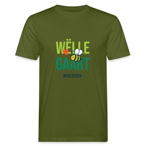 De Wëlle Gaart - Männer Bio-T-Shirt