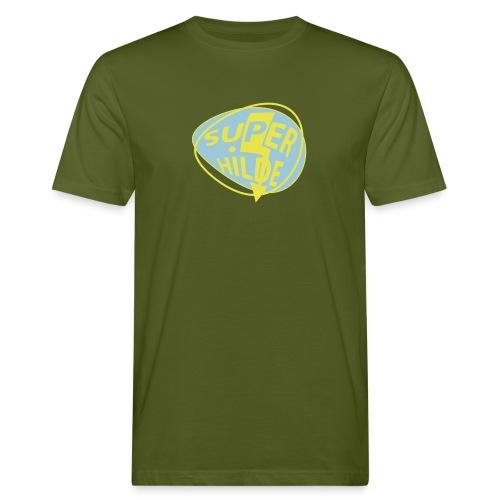 superhilde - Männer Bio-T-Shirt