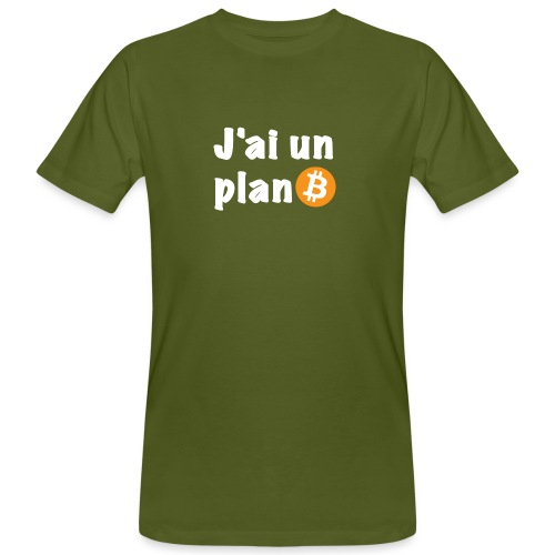 Plan Btc - T-shirt bio Homme