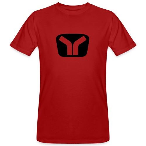 Yugo Logo Black-Transparent Design - Men's Organic T-Shirt