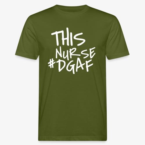 This Nurse #DGAF - Miesten luonnonmukainen t-paita