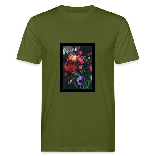 Love Flora - Männer Bio-T-Shirt