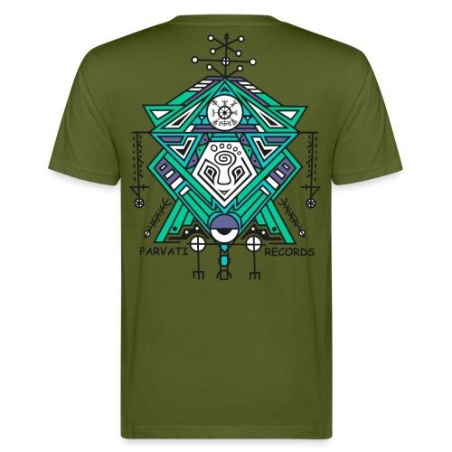 Parvati Records Vegvísir - Men's Organic T-Shirt