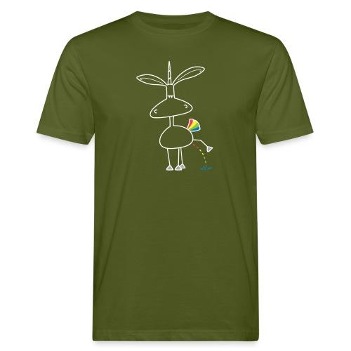 Dru - bunt pinkeln - Männer Bio-T-Shirt