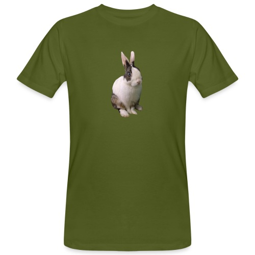coniglio - T-shirt ecologica da uomo