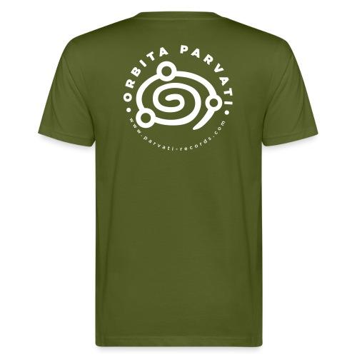 Orbita Parvati white logo - Men's Organic T-Shirt
