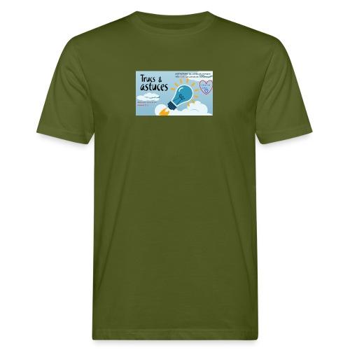 astuces mansour - T-shirt bio Homme
