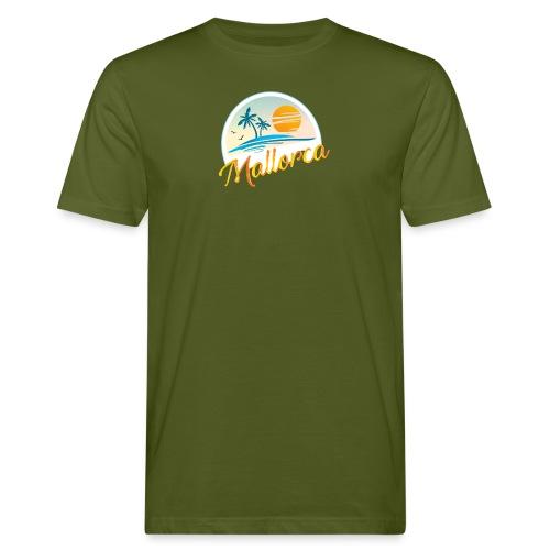 Mallorca - die goldene Insel der Lebensqualität - Männer Bio-T-Shirt