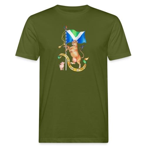 Vegan flag design by Maria Tiqwah - Men's Organic T-Shirt