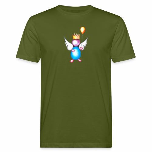 Mettalic Angel geluk - Mannen Bio-T-shirt