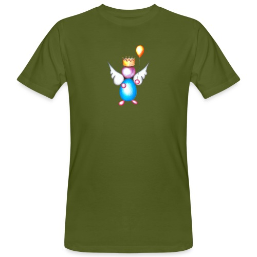 Mettalic Angel happiness - T-shirt bio Homme