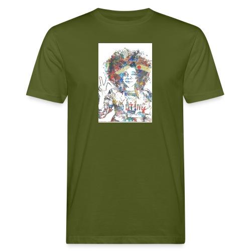 Live and let live, Geschenkidee - Männer Bio-T-Shirt