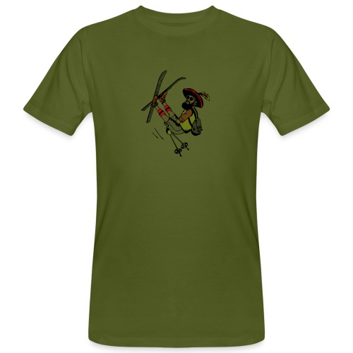 Freestyler mit Lederhosen - T-shirt ecologica da uomo