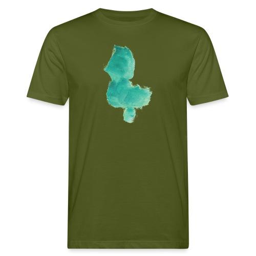 grünes Küken - Männer Bio-T-Shirt