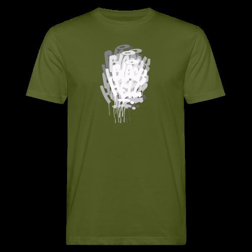bombing-x grigio - T-shirt ecologica da uomo