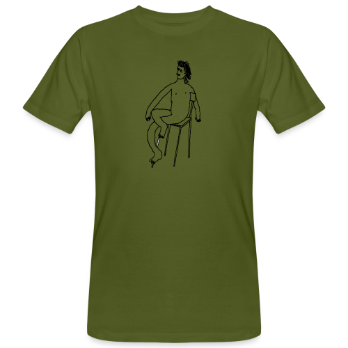 Sitting Boy - Männer Bio-T-Shirt