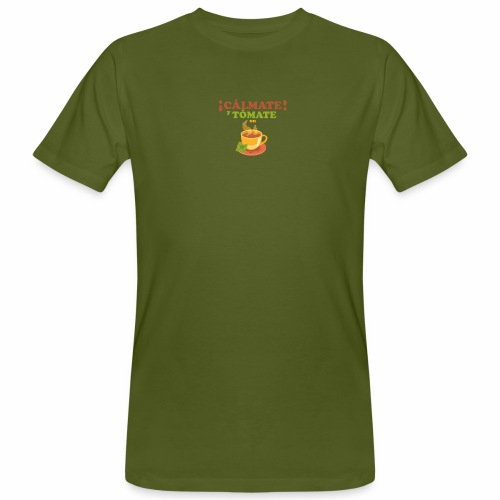 Cámate y tómate un Té - Camiseta ecológica hombre