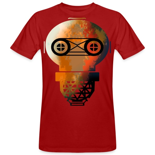 Old helmet with rust for diver or gas mask - Men's Organic T-Shirt