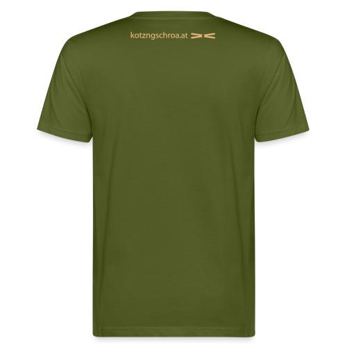 kotzngschroaat motiv - Männer Bio-T-Shirt