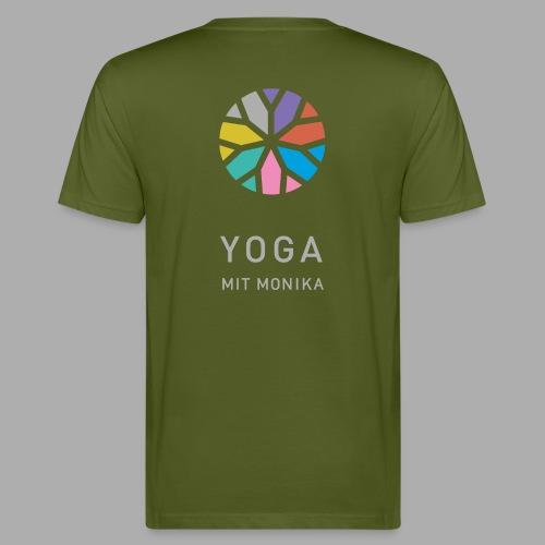 Yoga mit Monika - Männer Bio-T-Shirt