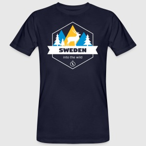 Sweden Into the Wild - Men's Organic T-shirt