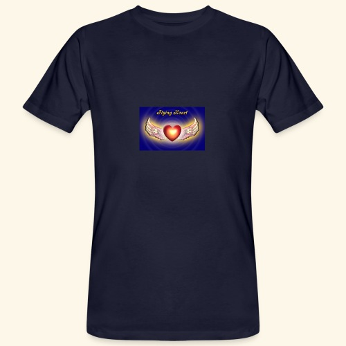 Flying Heart - Männer Bio-T-Shirt