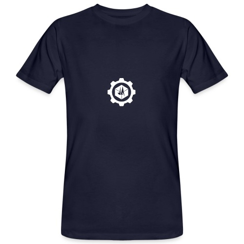 Jebus Adventures Cog White - Men's Organic T-Shirt
