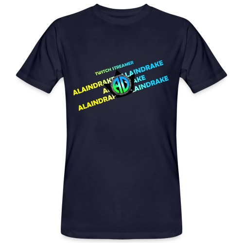 Alaindrake Twitch - Männer Bio-T-Shirt
