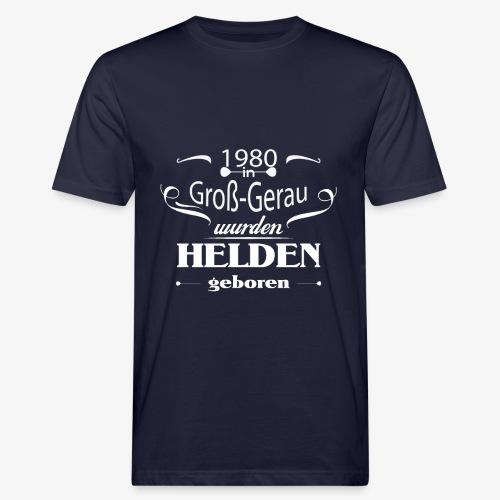 Groß Gerau 1980 - Männer Bio-T-Shirt