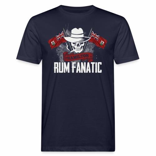 T-shirt Rum Fanatic - Hamilton, Bermuda - Ekologiczna koszulka męska