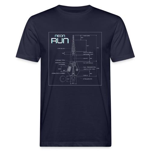 NeonRun - Mannen Bio-T-shirt