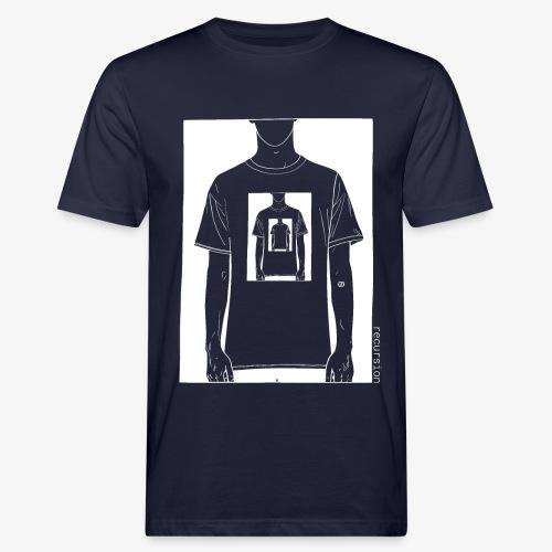 Recursion inverted | Geek | Art | Loop | - Men's Organic T-Shirt
