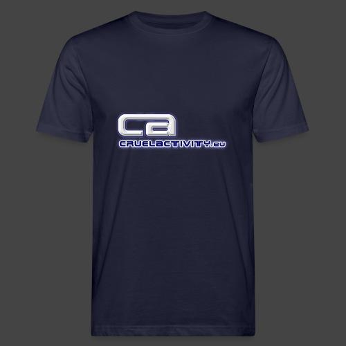 CruelActivity - The Liveact - Logo - Männer Bio-T-Shirt
