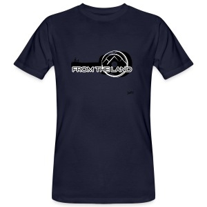 // From the land AWEN guitar adventure - Men's Organic T-shirt